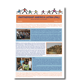 PAL October 2010 newsletter
