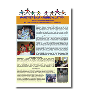 PAL October 2011 newsletter