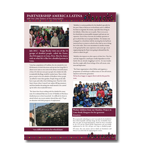 PAL charity newsletter March 2012